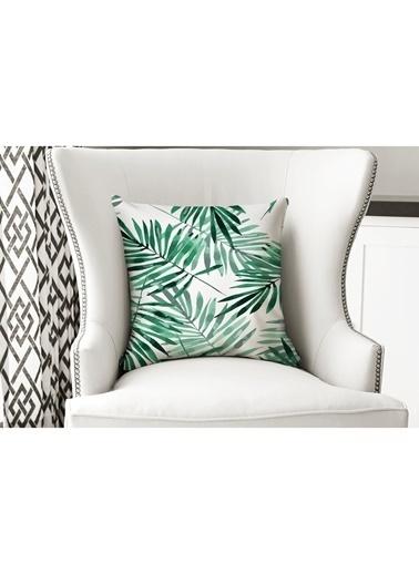 Lyn Home & Decor İnce Yapraklar Yastık Kılıfı Renkli